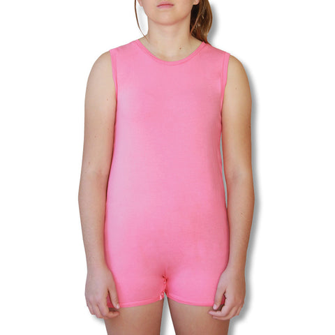Pink Sleeveless Bodysuit  |  Wonsie