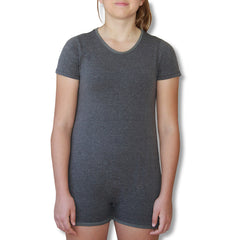 Grey Short Sleeve Bodysuit  |  Wonsie - Wonsie