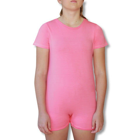 Pink Short Sleeve Bodysuit  |  Wonsie