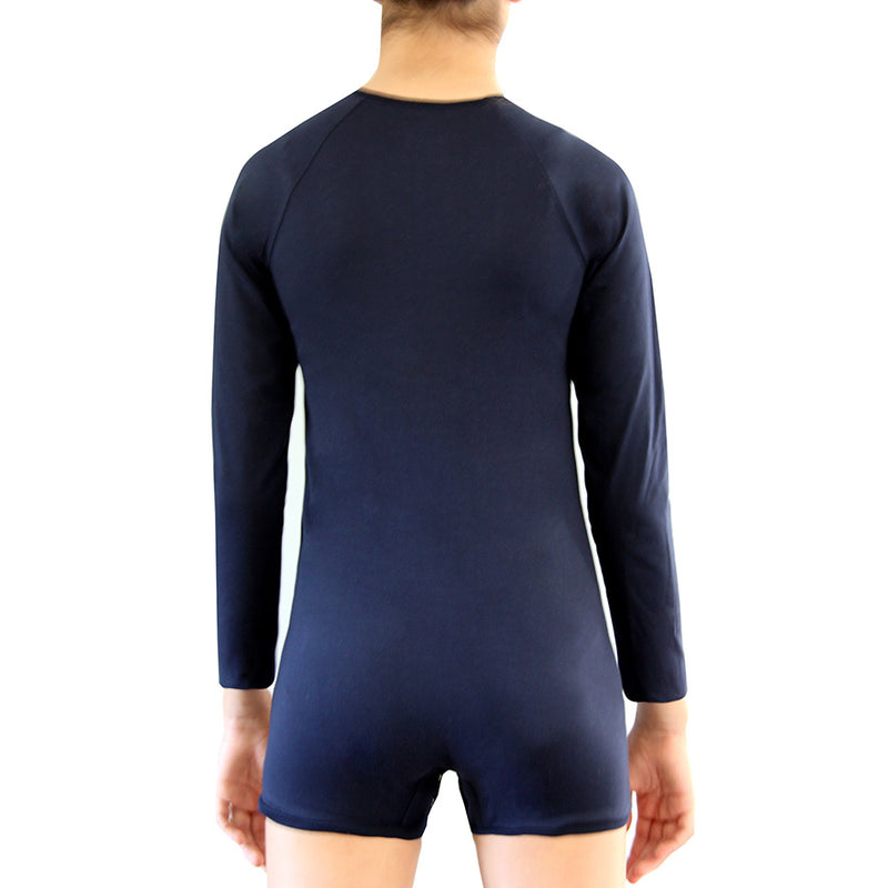 Navy Long Sleeve Bodysuit  |  Wonsie - Wonsie