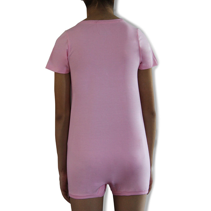 Pink Tummy Access Short Sleeve  |  Wonsie - Wonsie