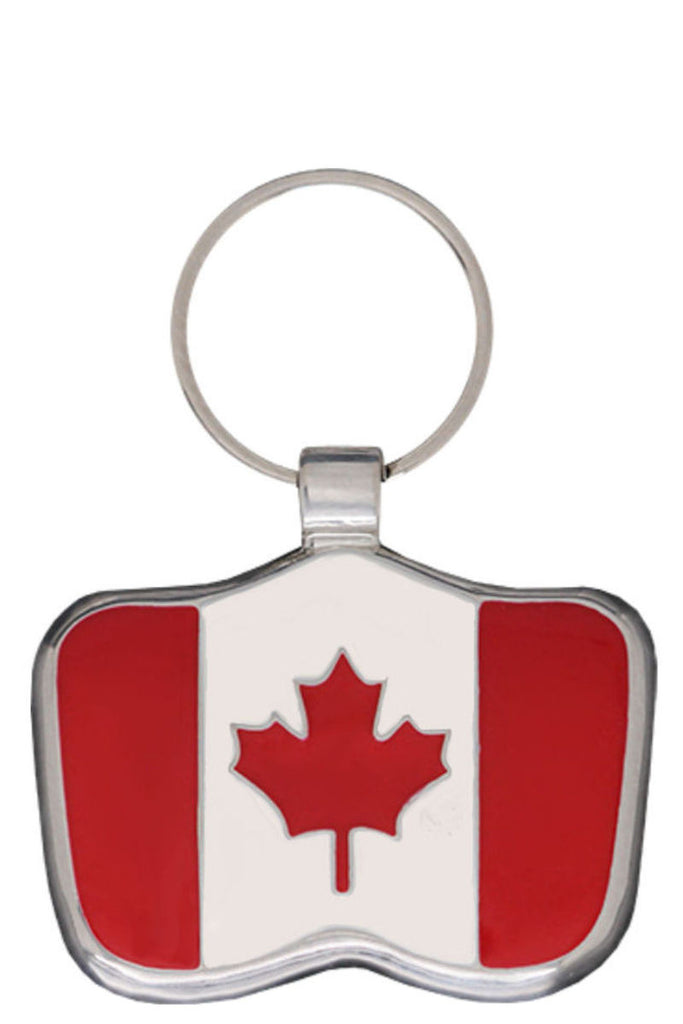 Canadian Flag Pet Tag - Pawprint Pet Tags