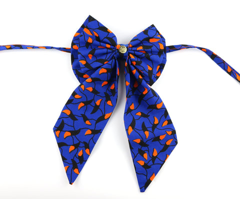 Ladies' Bow Tie - Blue Aurora