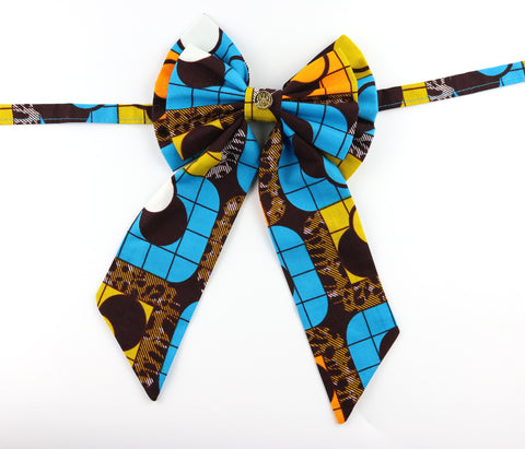Ladies' Bow Tie - Blue Ivy League