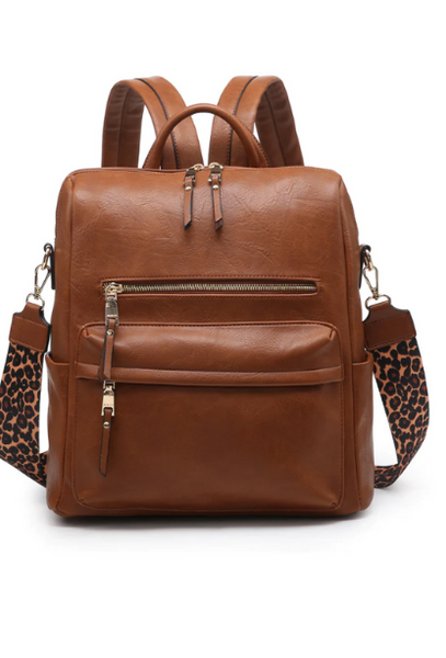 Amelia Circle Fringe Earrings