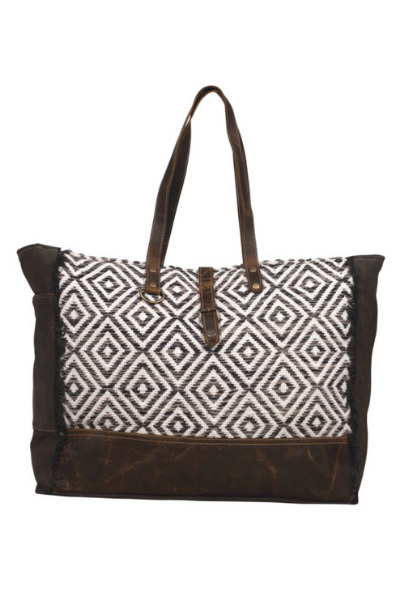 Myra Decent Blend Weekender Bag