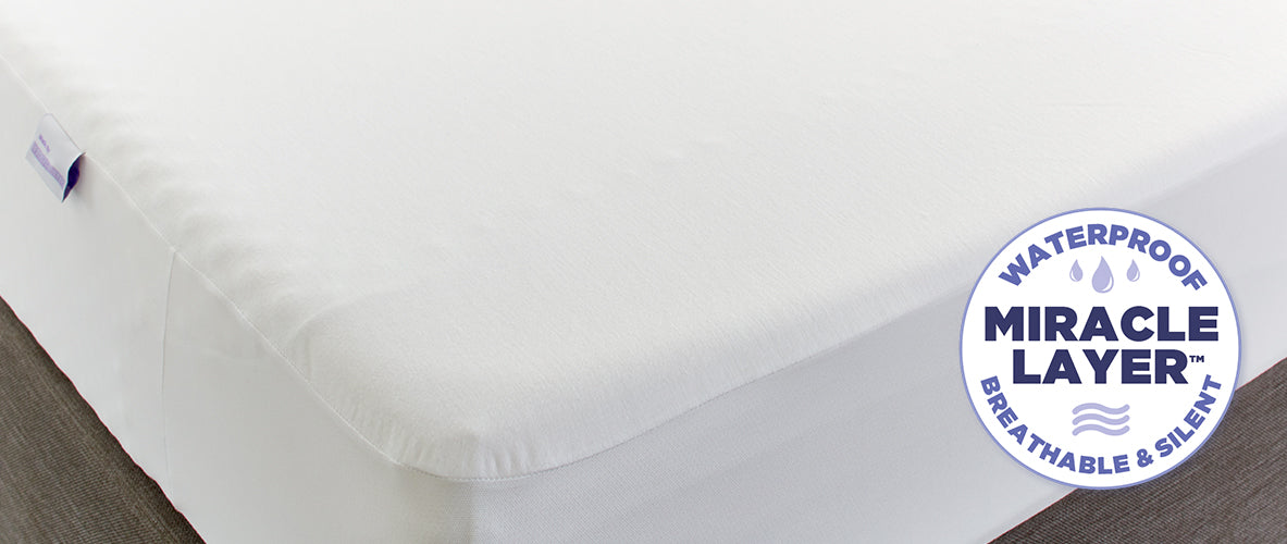 Protect-A-Bed's Miracle Layer™ - Silent, Breathable, and Waterproof