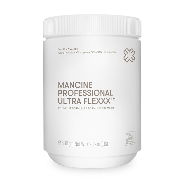 Mancine 'Ultra Flexxx' Strip Wax: Vanilla 800gm