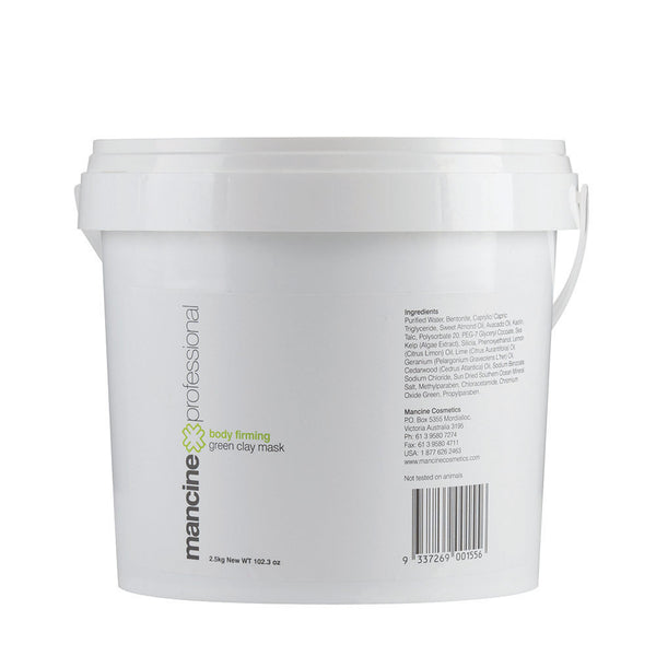 Mancine Body Firming Green Clay Mask (2.5kg) - Spacadia