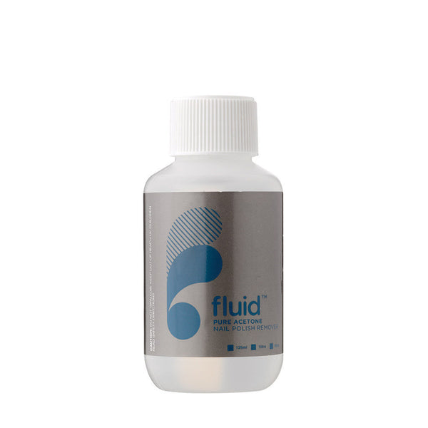 Fluid Nail Polish Remover: Pure Acetone (125ml)