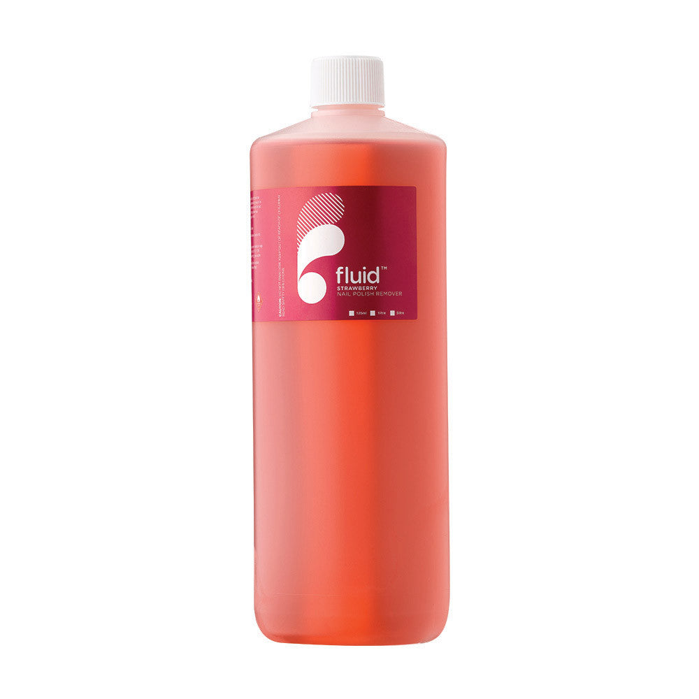 Fluid Nail Polish Remover: Strawberry (1 Litre)