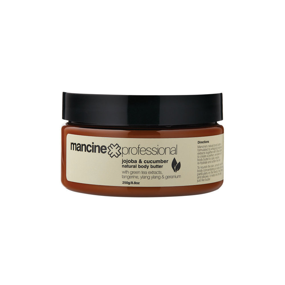 Mancine Natural Body Butter: Jojoba & Cucumber