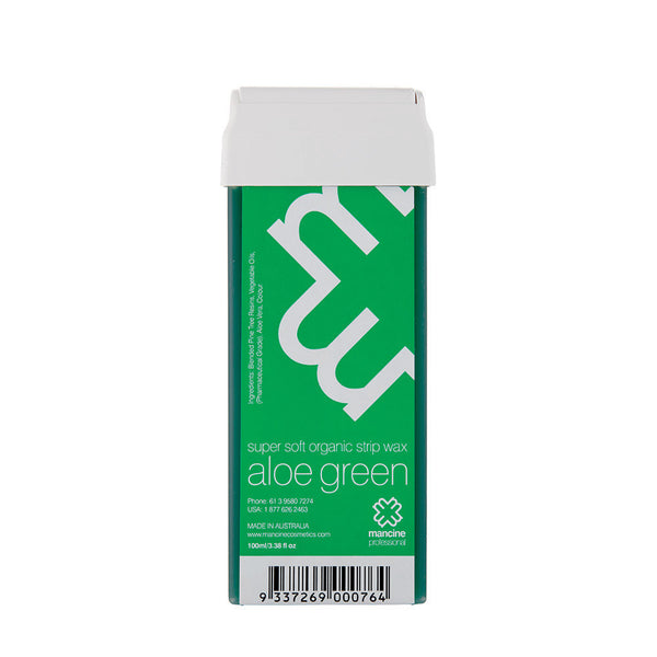 Mancine Roll-On Wax: Aloe Green