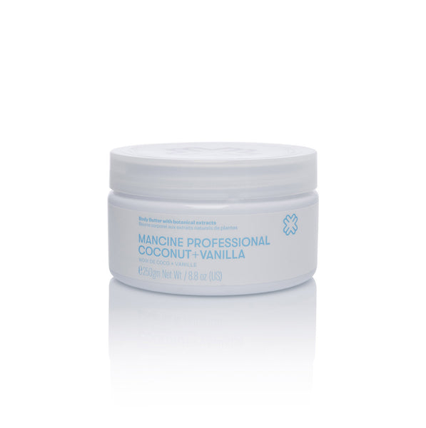Mancine Body Butter: Coconut & Vanilla