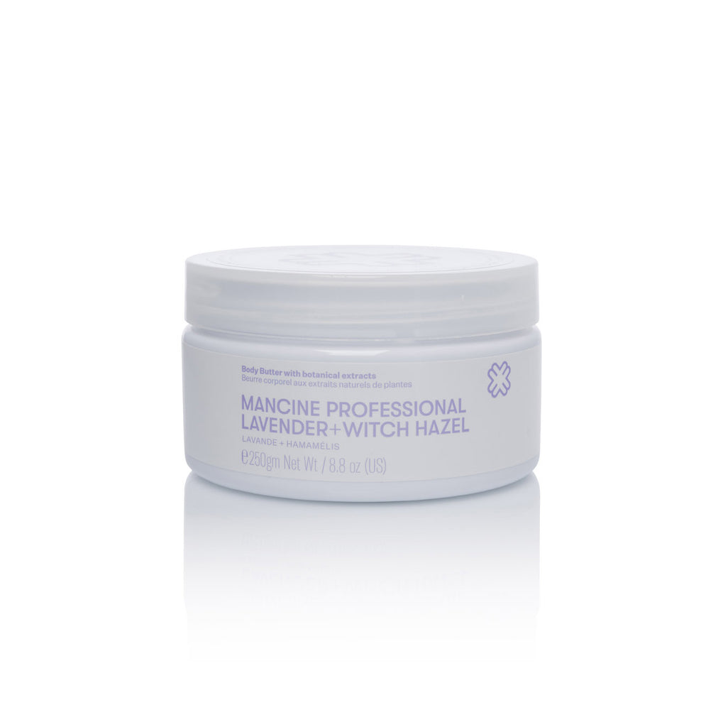 Mancine Body Butter: Lavender & Witch-Hazel