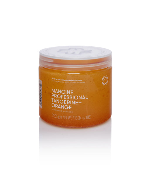 Mancine Hot Salt Body Scrub: Tangerine & Orange