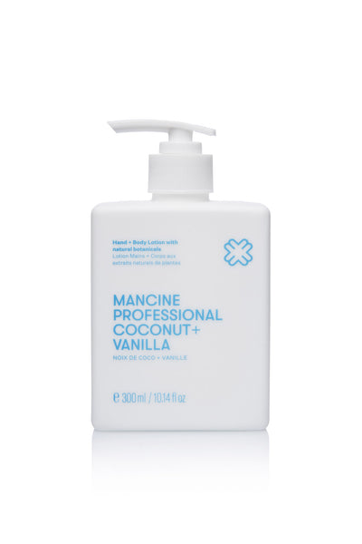 Mancine Hand & Body Lotion: Coconut & Vanilla (300ml)