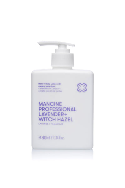 Mancine Hand & Body Lotion: Lavender & Witch-Hazel (300ml)
