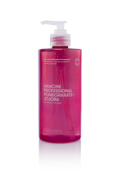Mancine Body Wash: Pomegranate & Jojoba