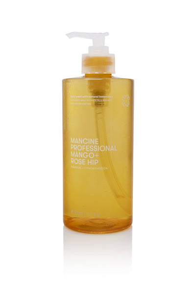 Mancine Body Wash: Mango & Rose Hip