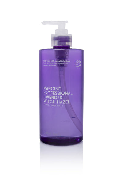 Mancine Body Wash: Lavender & Witch-Hazel