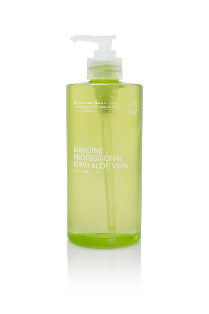 Mancine Body Wash: Kiwi & Aloe