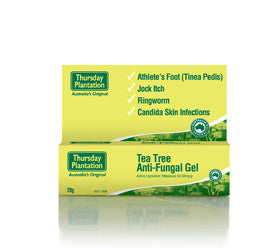 Tea Tree Anti-Fungal Gel (20ml)