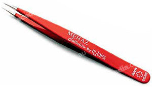 Rubis Tweezer – Pointed: Assorted Colours