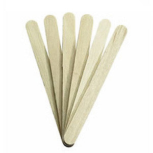 Wooden Wax Applicators – Large (Qty: 100)