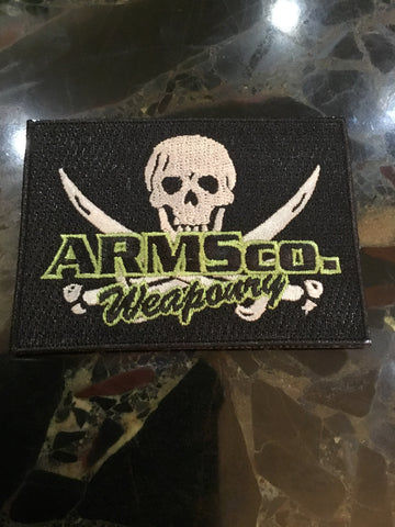 ARMSco. Weaponry Embroidered Patch