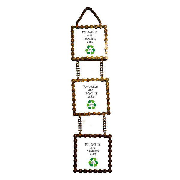 3-Tiered Upcycled Photo Frame | Fair Trade & Environmentally Friendly