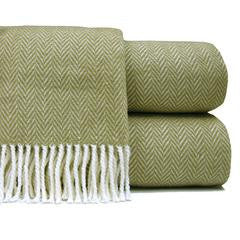 Herringbone Plush Throw