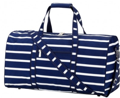 Duffel Bag Navy Stripe