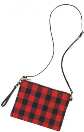 Red Buffalo Check Hayley Purse
