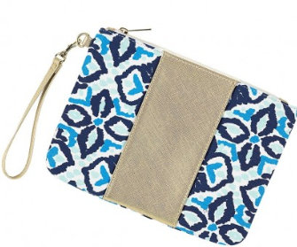Sea Glass Wristlet
