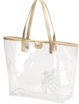 Turtle Retreat Clear Tote