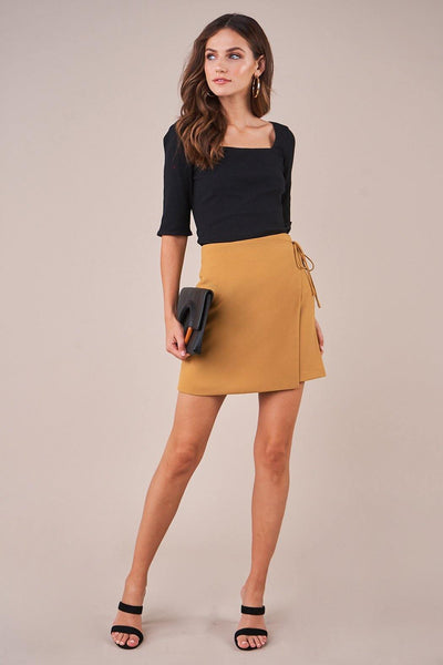 Golden Hour Wrap Skirt