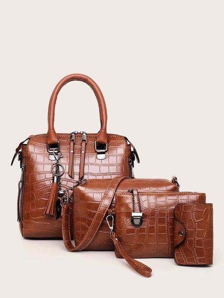Sia Croc Purse Set - House of Angelica