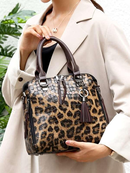 Sia Leopard Purse Set - House of Angelica