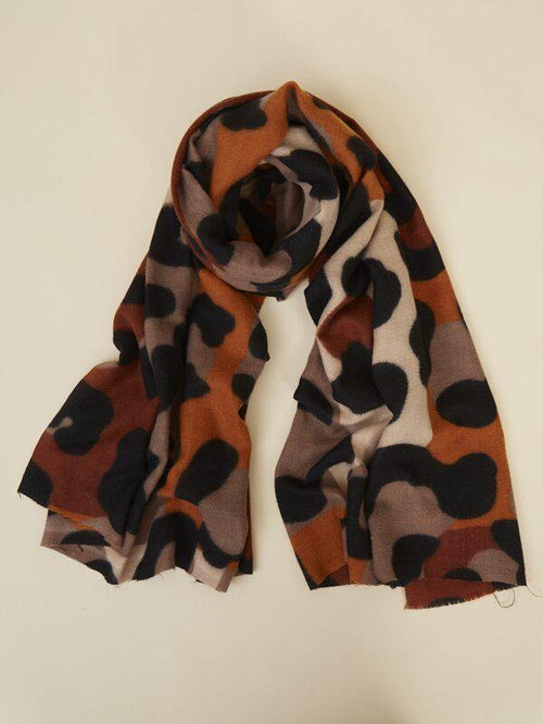 Azariah Leopard Scarf - House of Angelica