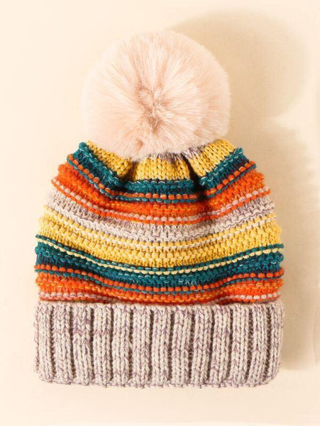 Franny Striped Toque - House of Angelica