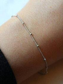 Silver Plated Dew Drop Bracelet