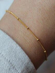 Dew Drop Bracelet - Gold Plated
