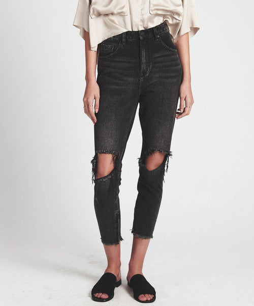 One Teaspoon Denim - Double Freebirds in black