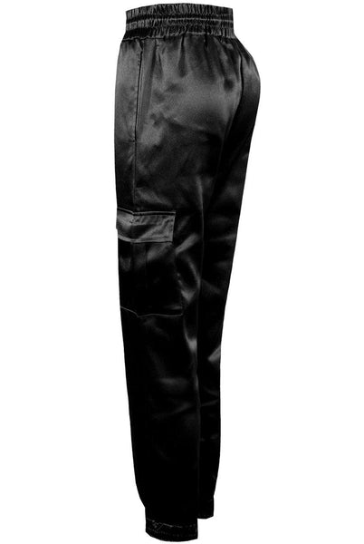 Satin Luxe Jogger - House of Angelica