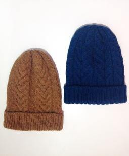 Knit Hat - Toque/ Beanie.  Peruvian Wool and Alpaca
