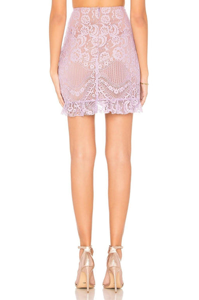 Valentina Lace Mini Skirt
