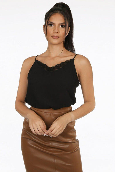 Amanza Lace Cami - House of Angelica
