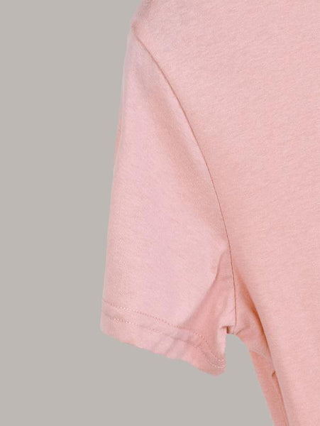 Blessed Graphic Tee - Soft Pink