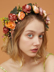 Floral Headband/Crown